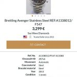 Breitling 1884 chronographe certifie chronometre1