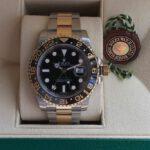 Rolex 116713 GMt demi vang 18k
