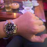 Rolex 116713 GMt demi vang 18k2