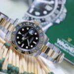 Rolex 116713 GMt demi vang 18k4