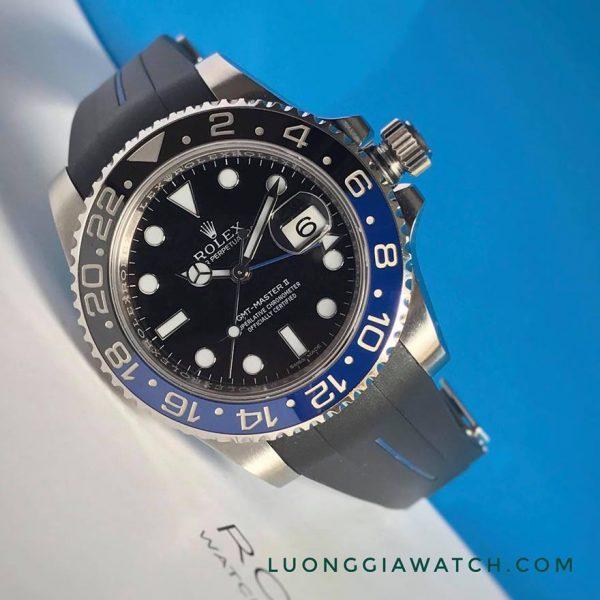 Rolex 116710 batman dây cao su3