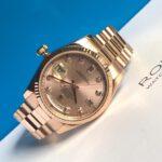 Rolex 118205 vàng hồng nguyên khối2