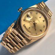 Rolex 18238 vàng khối 18k1