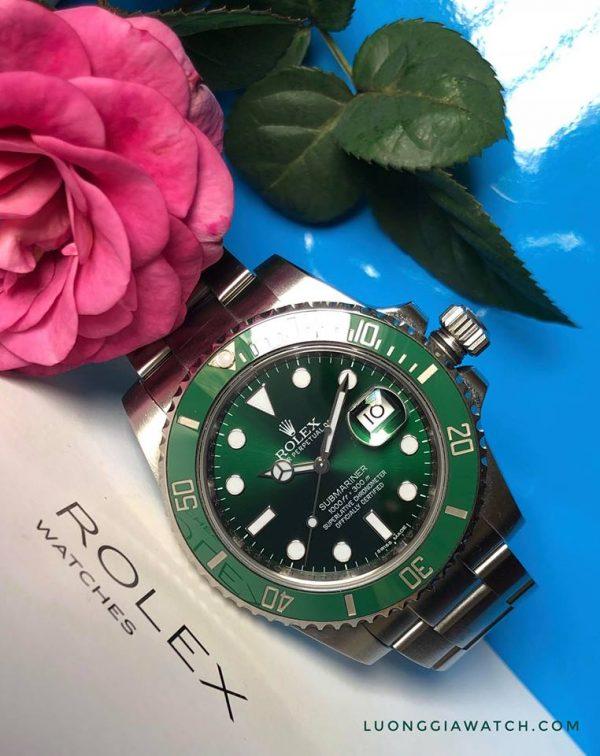 Rolex 116610 Hulk3