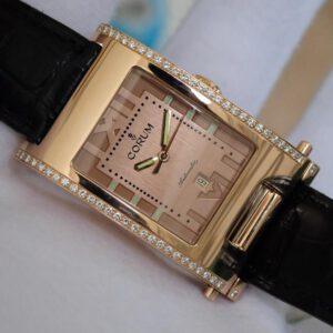 Đồng hồ đeo tay Corum tabogan vàng hồng 18k