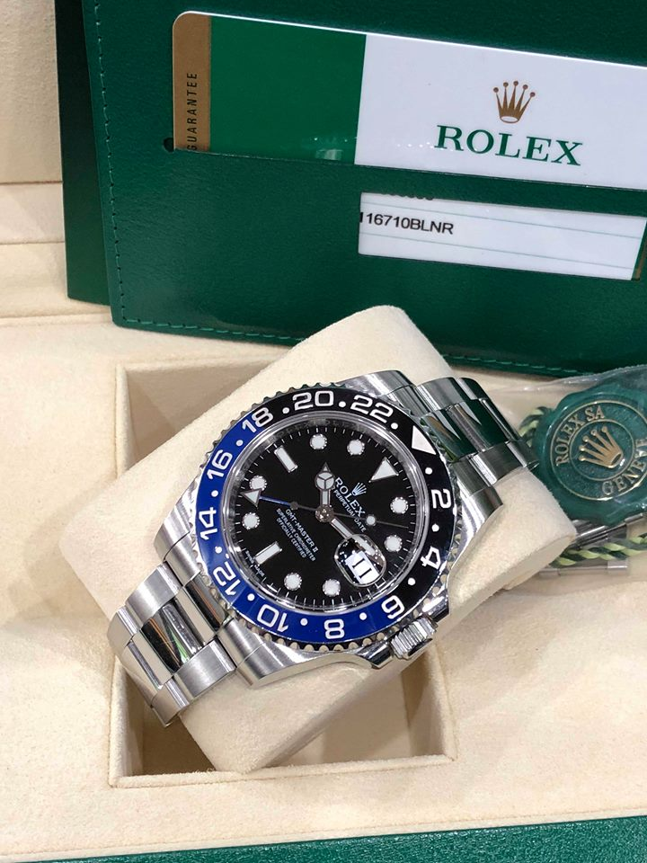 Dong ho chinh hang Rolex 116710 batman
