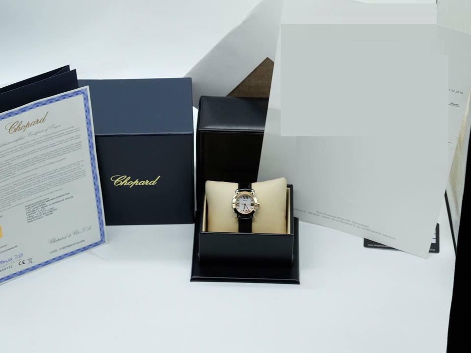 CHOPARD Sport II Round Diamond White Dial 18 kt Rose Gold