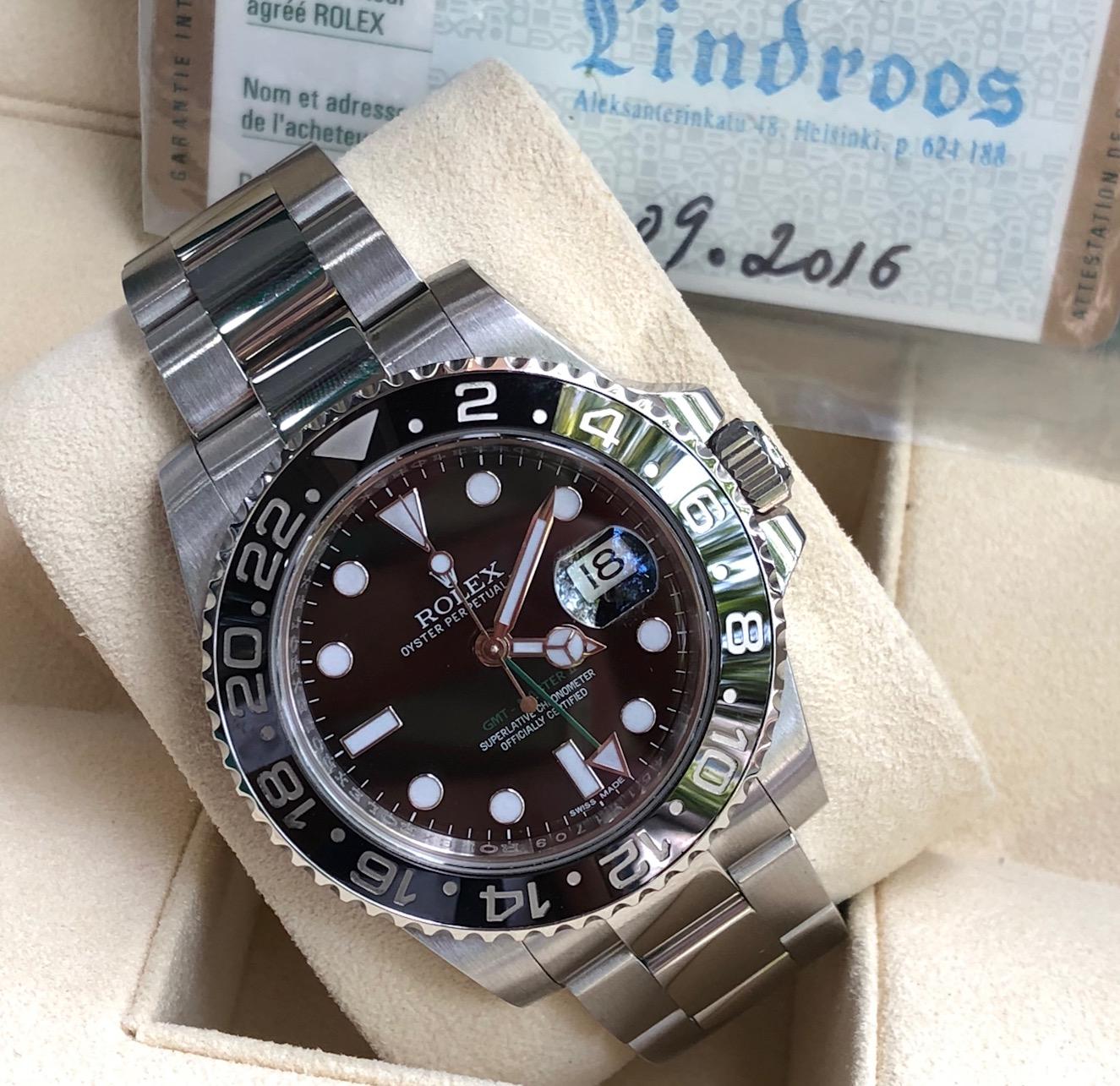Rolex 116710 GMT