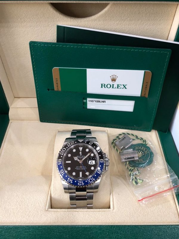 Rolex 116710 GMT batman