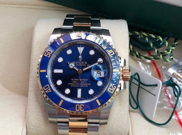 Rolex 16613 demi 18K