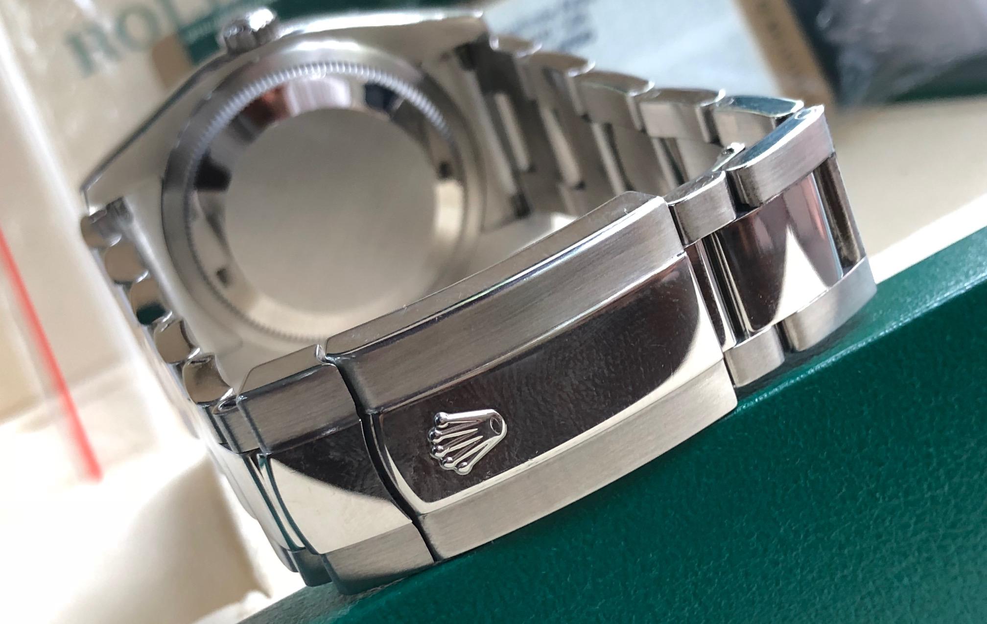 Rolex 116200 mặt tia sản xuất năm 2012