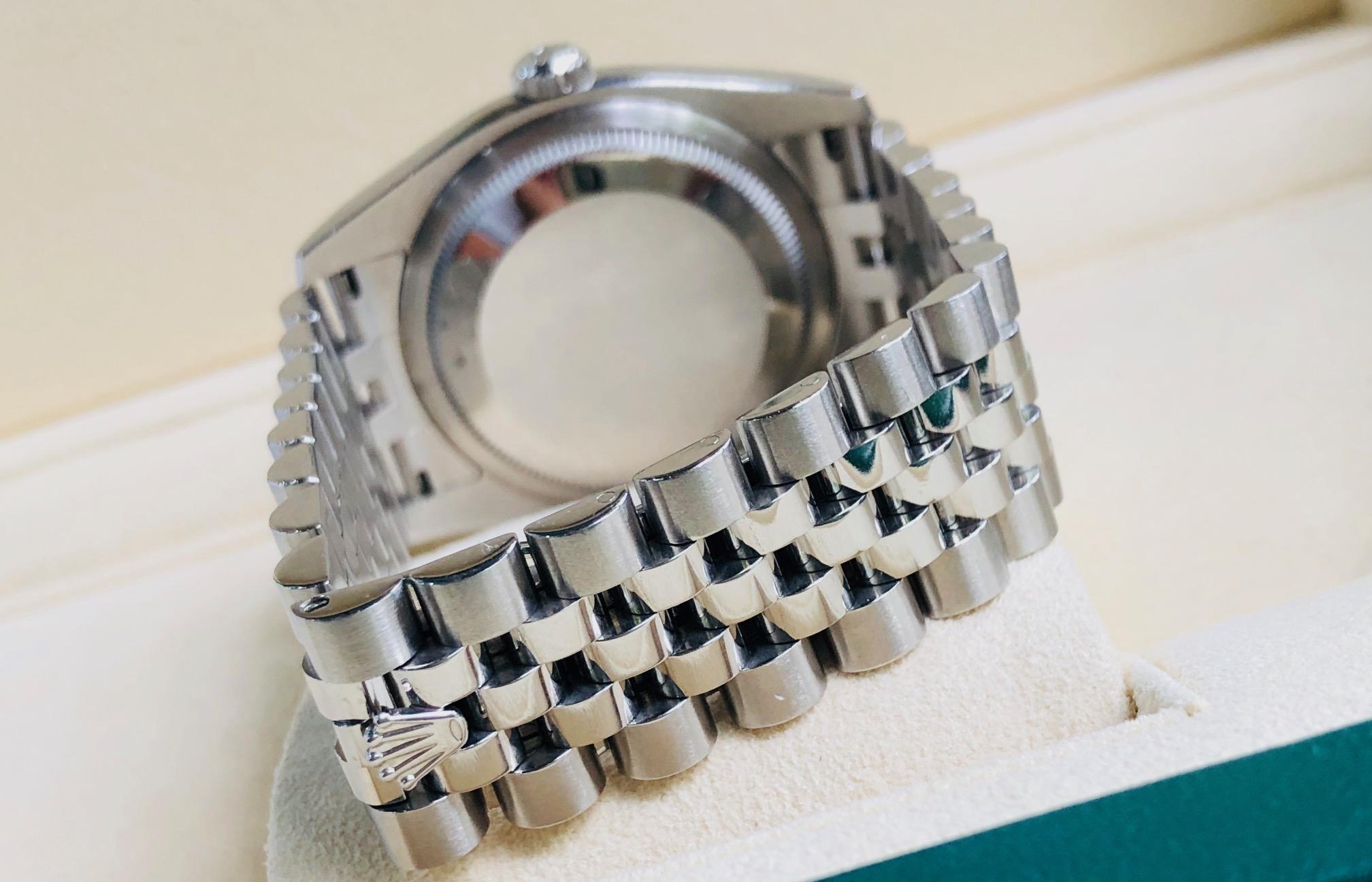 Rolex 116200 mặt xanh navy sản xuất năm 2013