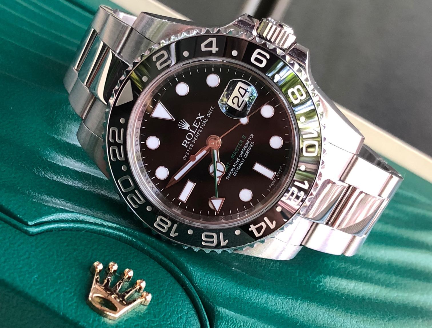 Rolex 116710 GMT mặt đen sản xuất năm 2012