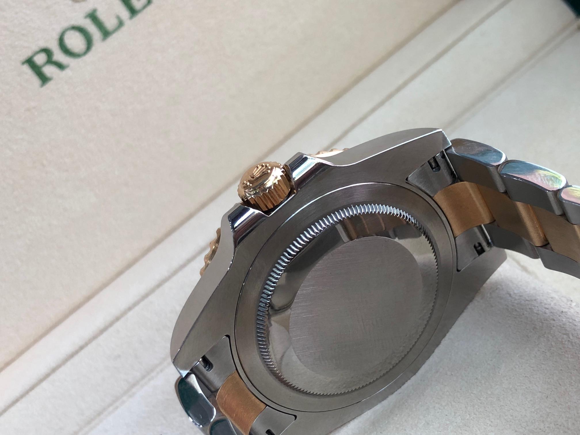 Rolex 116713 GMT mặt đen sản xản xuất năm 2017