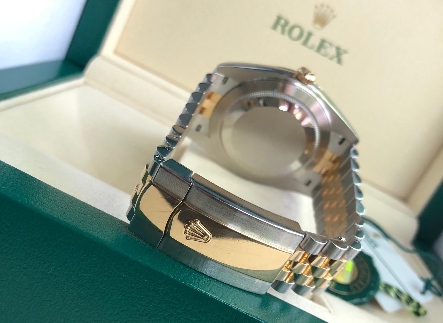 Rolex 126333 demi vàng 18k sản xuất năm 2016
