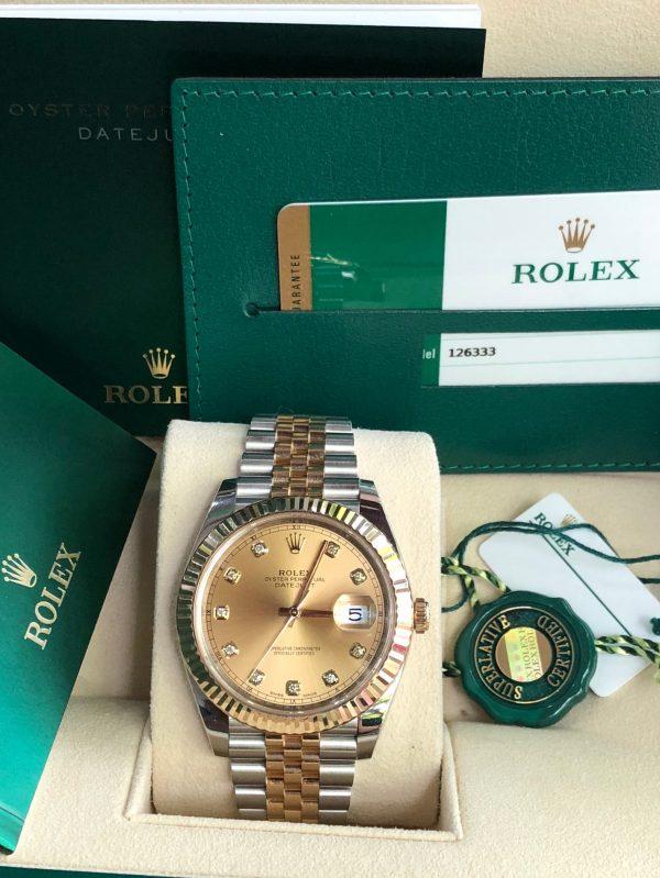 Rolex 126333 demi vàng 18k sản xuất năm 2016-5