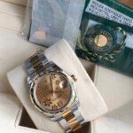 Rolex 178343 mặt hoa đào vàng sản xuất năm 2016 fullbox