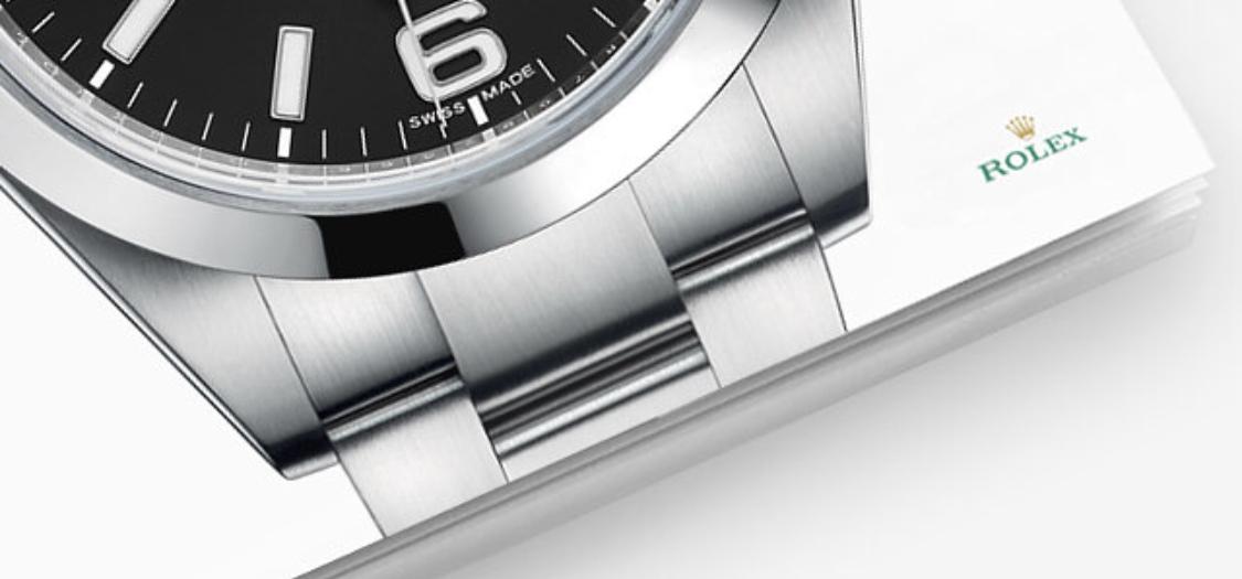 Rolex EXPLORER 214270 mặt đen sản xuất năm 2012