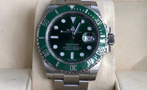 Rolex Submariner xanh lá phiên bản kỷ niệm sản xuất năm 2012