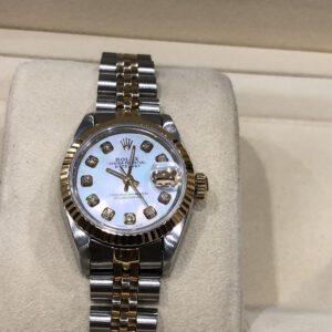 Rolex 69173 chất liệu vàng và thép sản xuất năm 1987