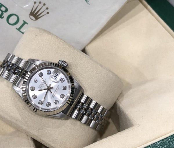 Rolex 69174 chất liệu vàng trắng và thép sản xuất năm 1998_1