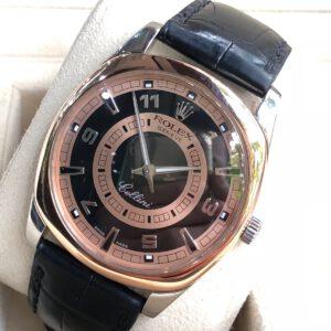 Rolex cellini mens danaos 4243.9bic Rose and white gold 18k_2