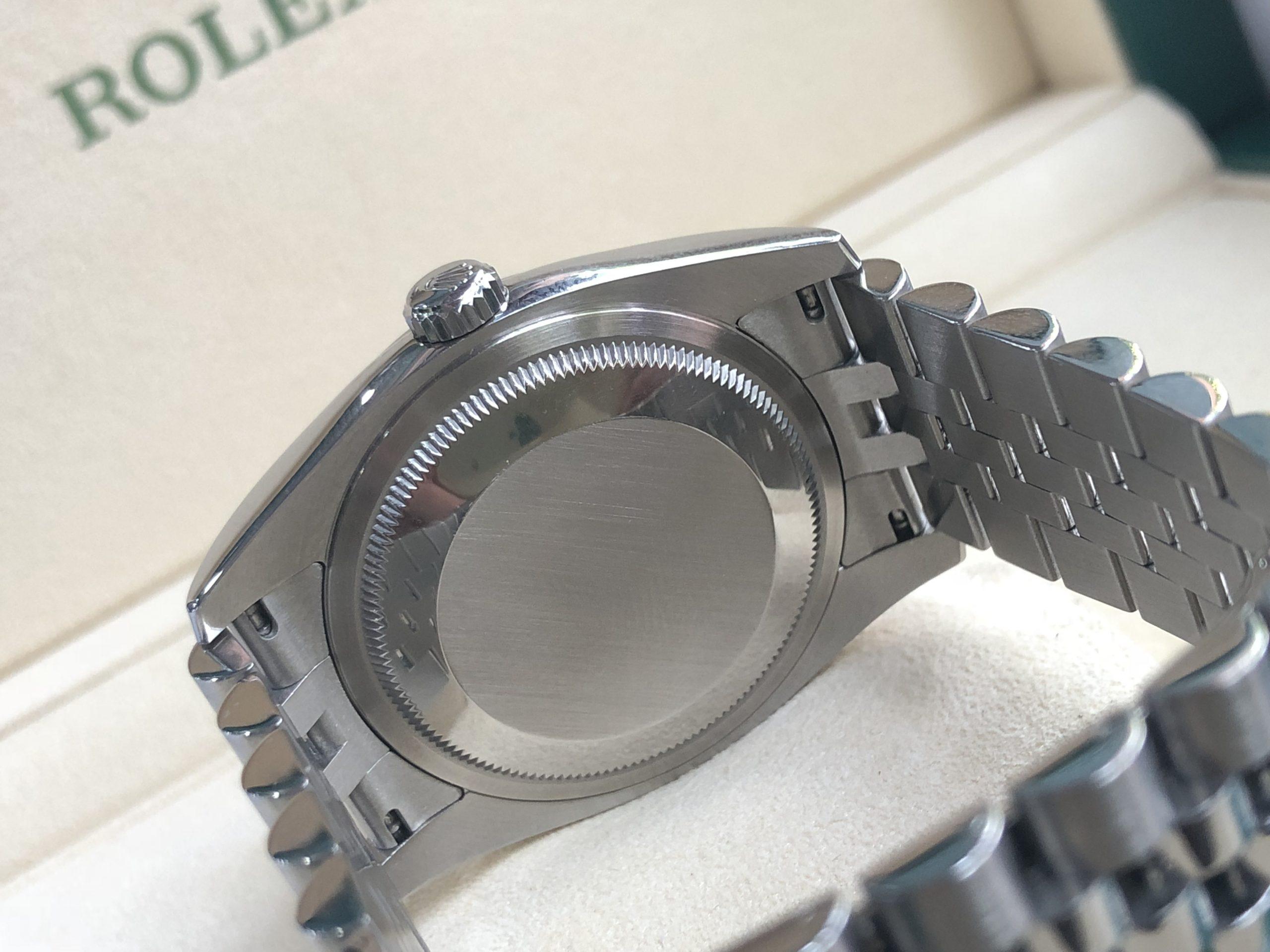 Rolex 116200 vỏ thép mặt tia xanh sản xuất 2016 - 2017-3