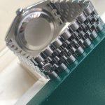 Rolex 116200 vỏ thép mặt tia xanh sản xuất 2016 – 2017-4
