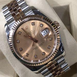Rolex 116231 demi vàng hồng sản xuất năm 2007-2