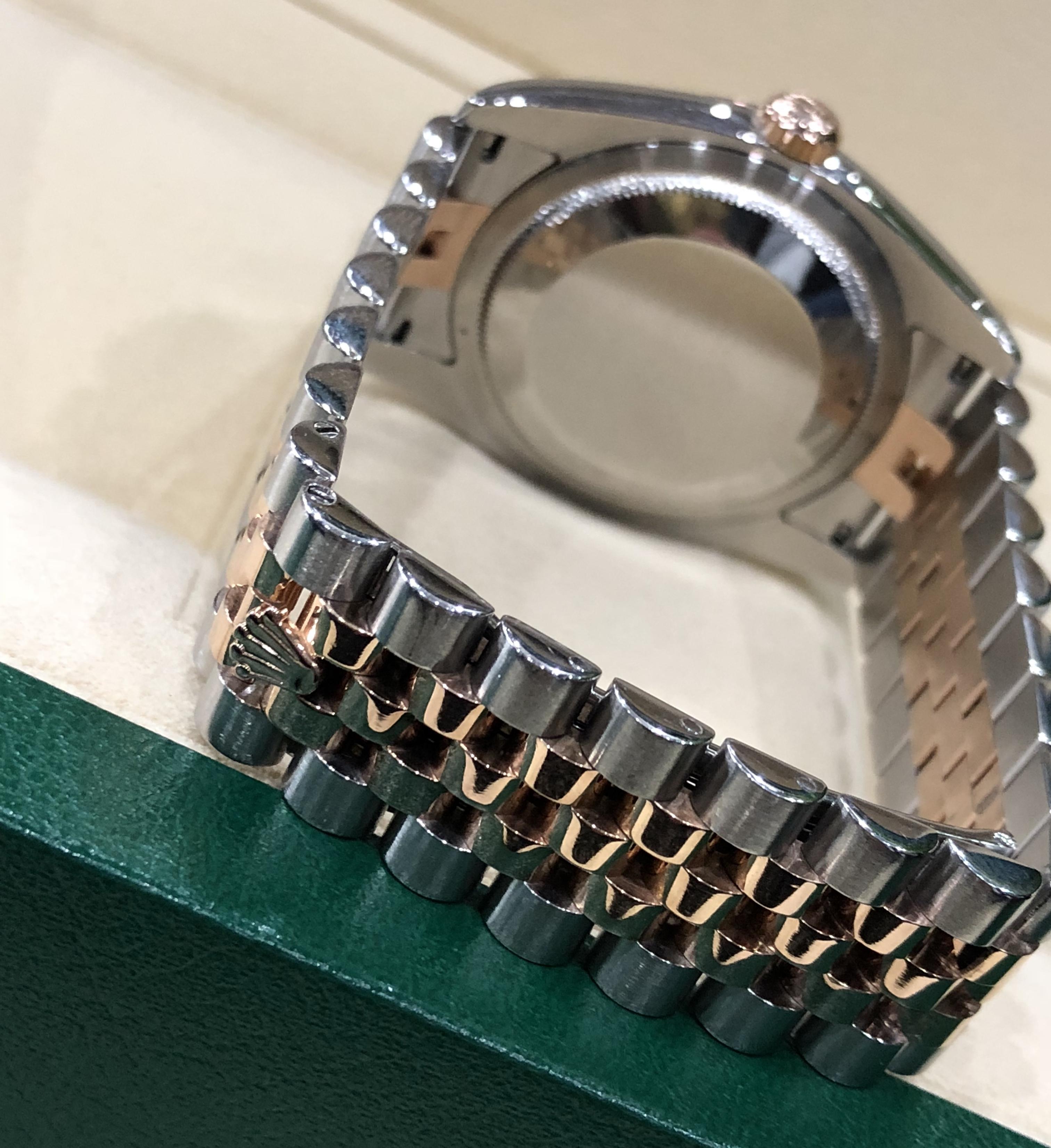 Rolex 116231 demi vàng hồng sản xuất năm 2007-3