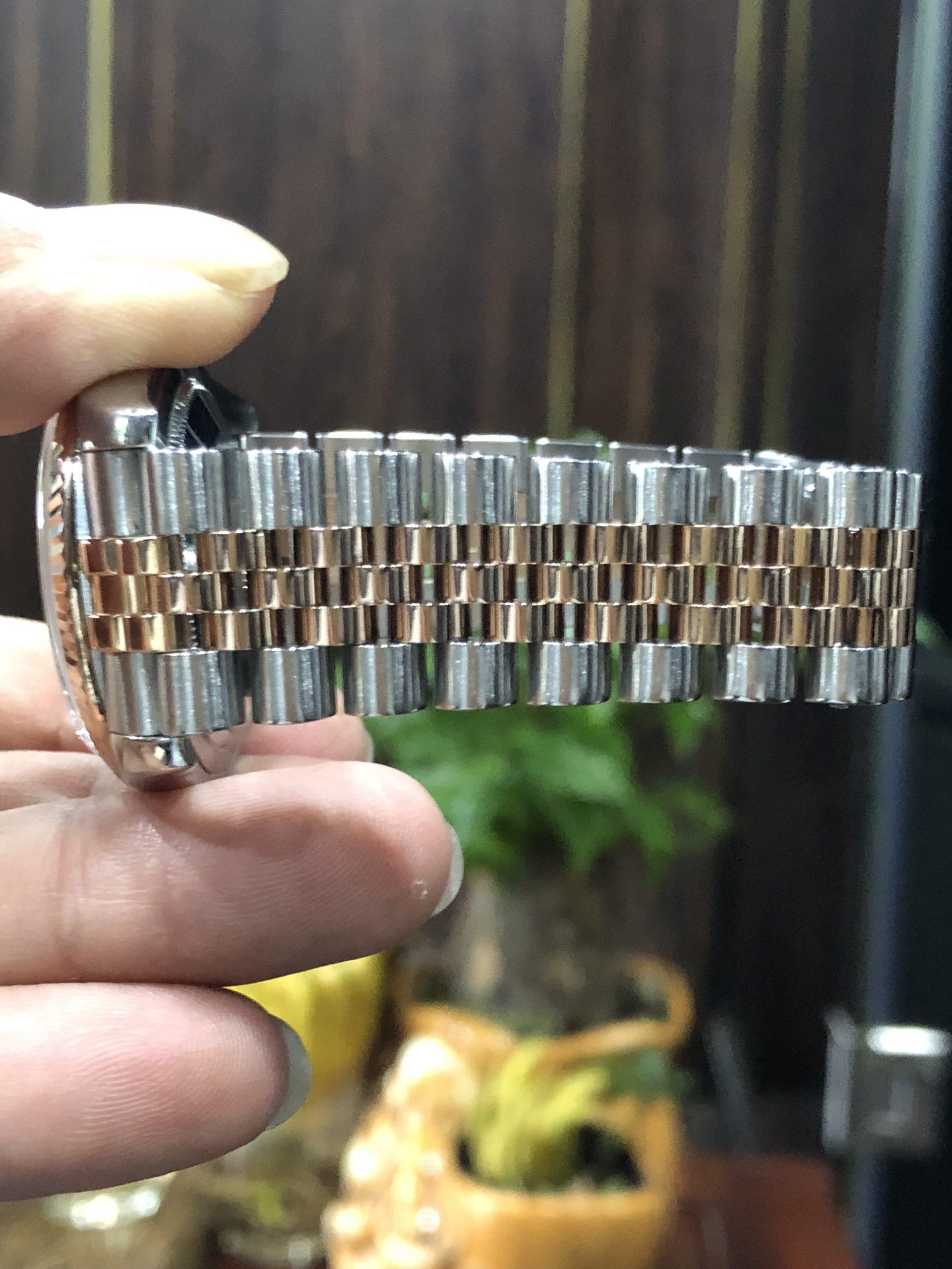 Rolex 116231 demi vàng hồng sản xuất năm 2007-5
