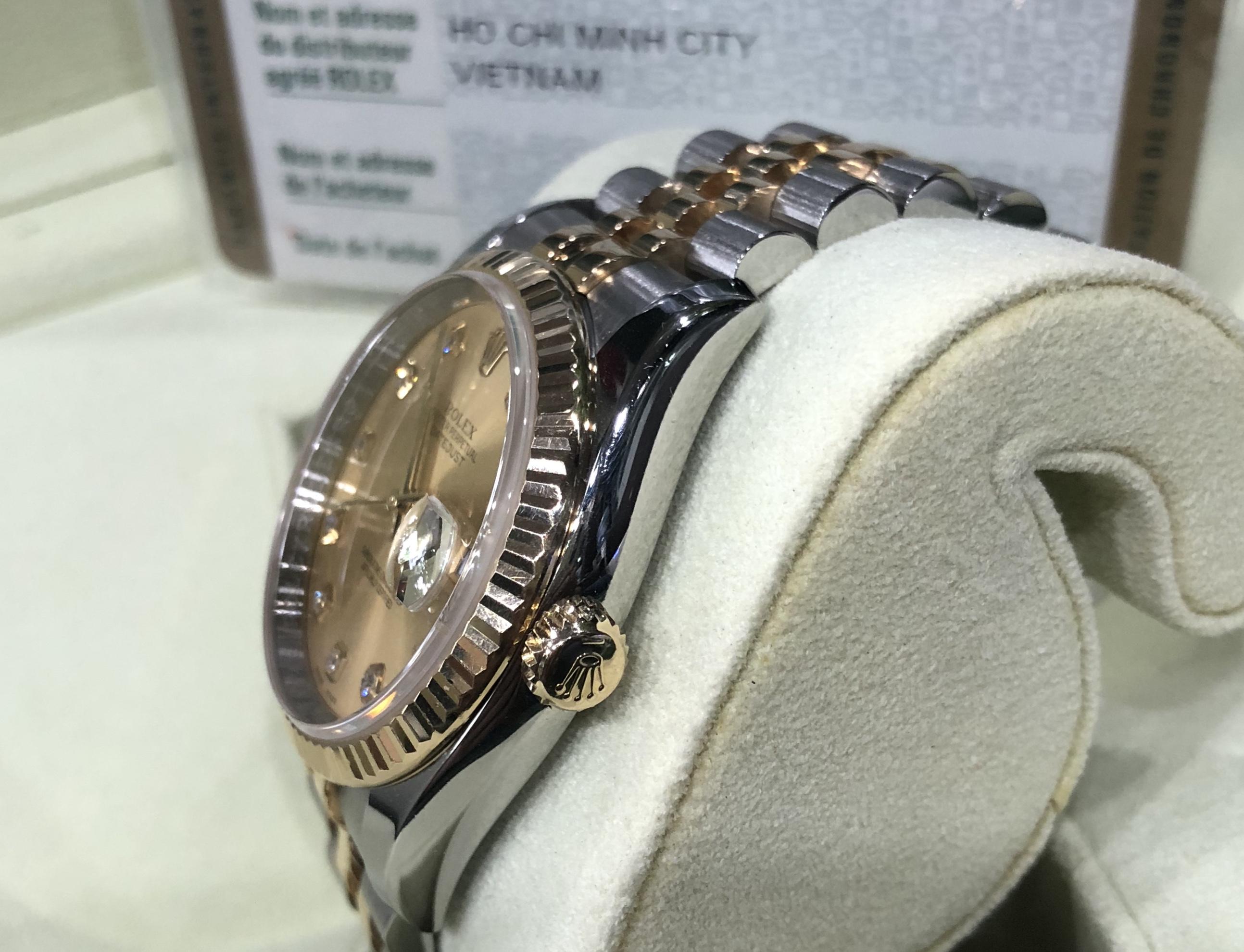 Rolex 116233 Demi vàng 18K sản xuất năm 2016 fullbox-2