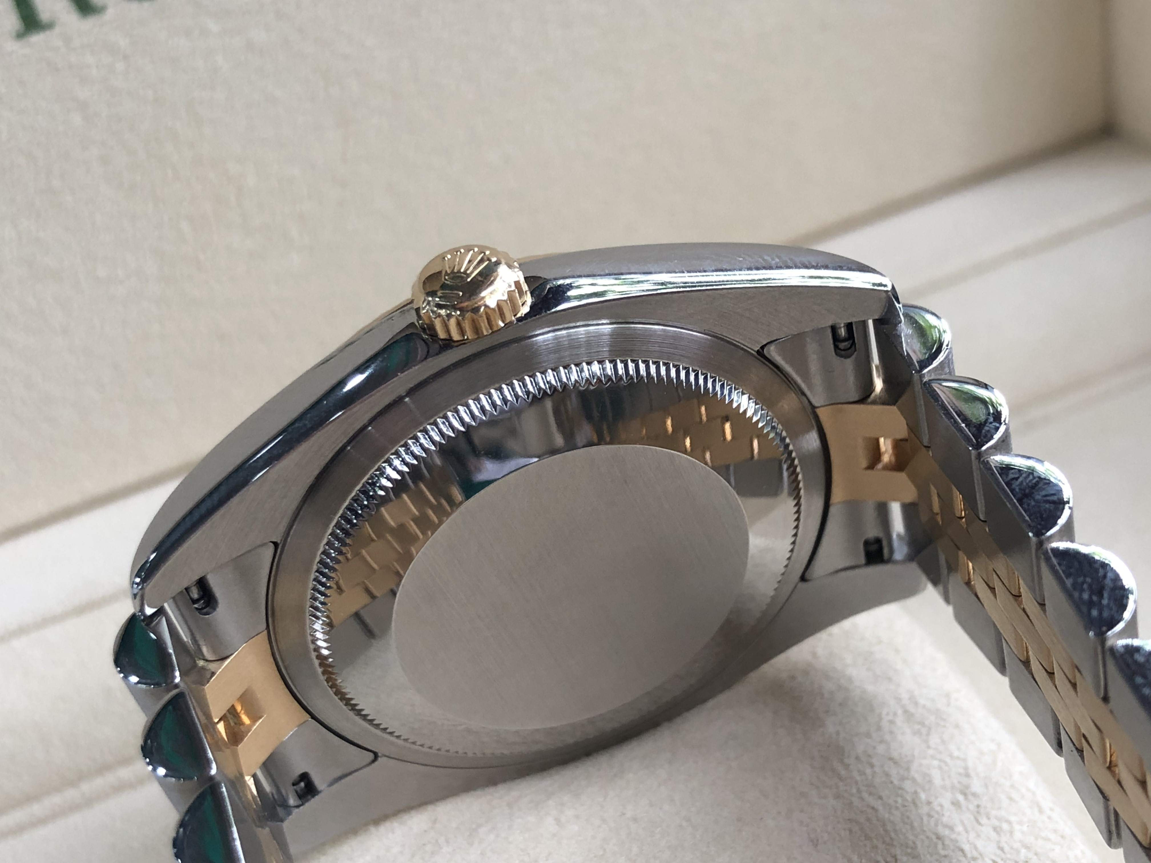 Rolex 116233 mặt số tráng men trắng sản xuất năm 2004-3