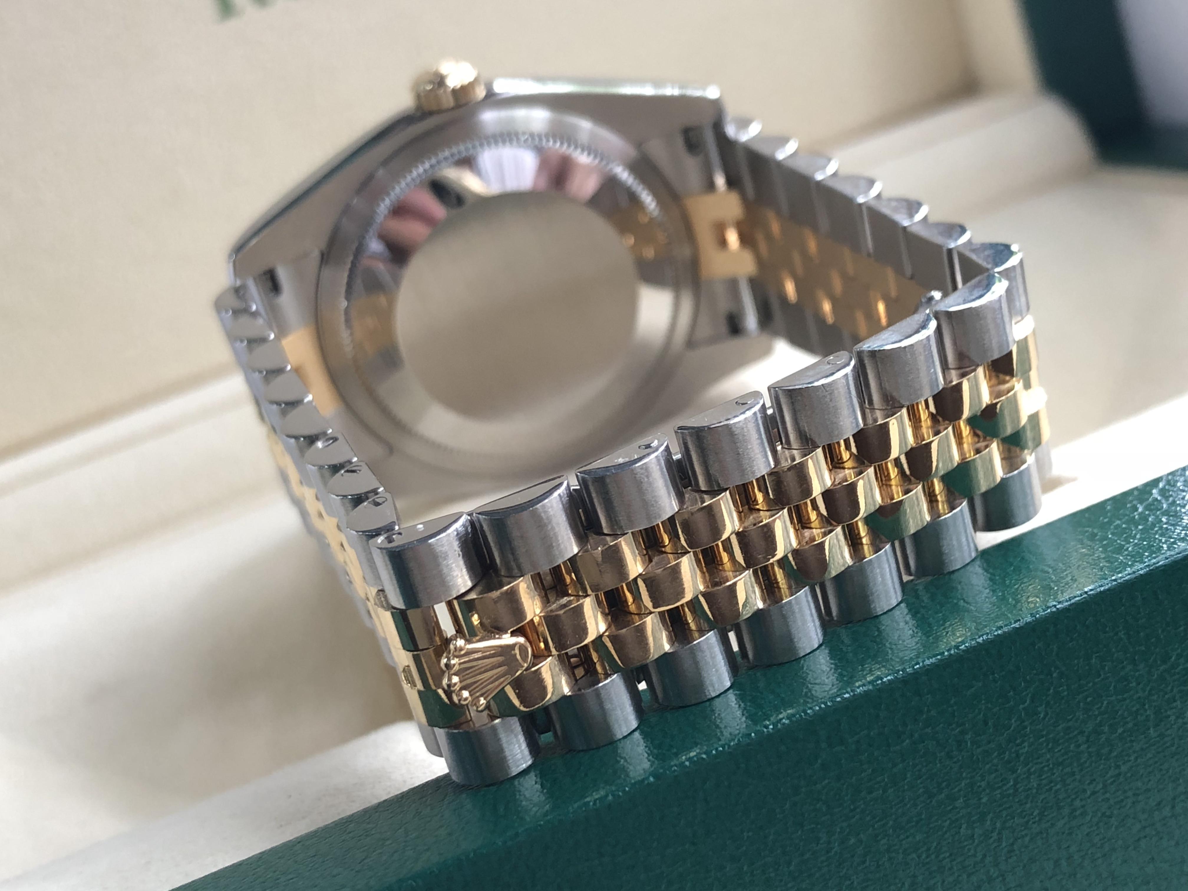 Rolex 116233 mặt số tráng men trắng sản xuất năm 2004-4