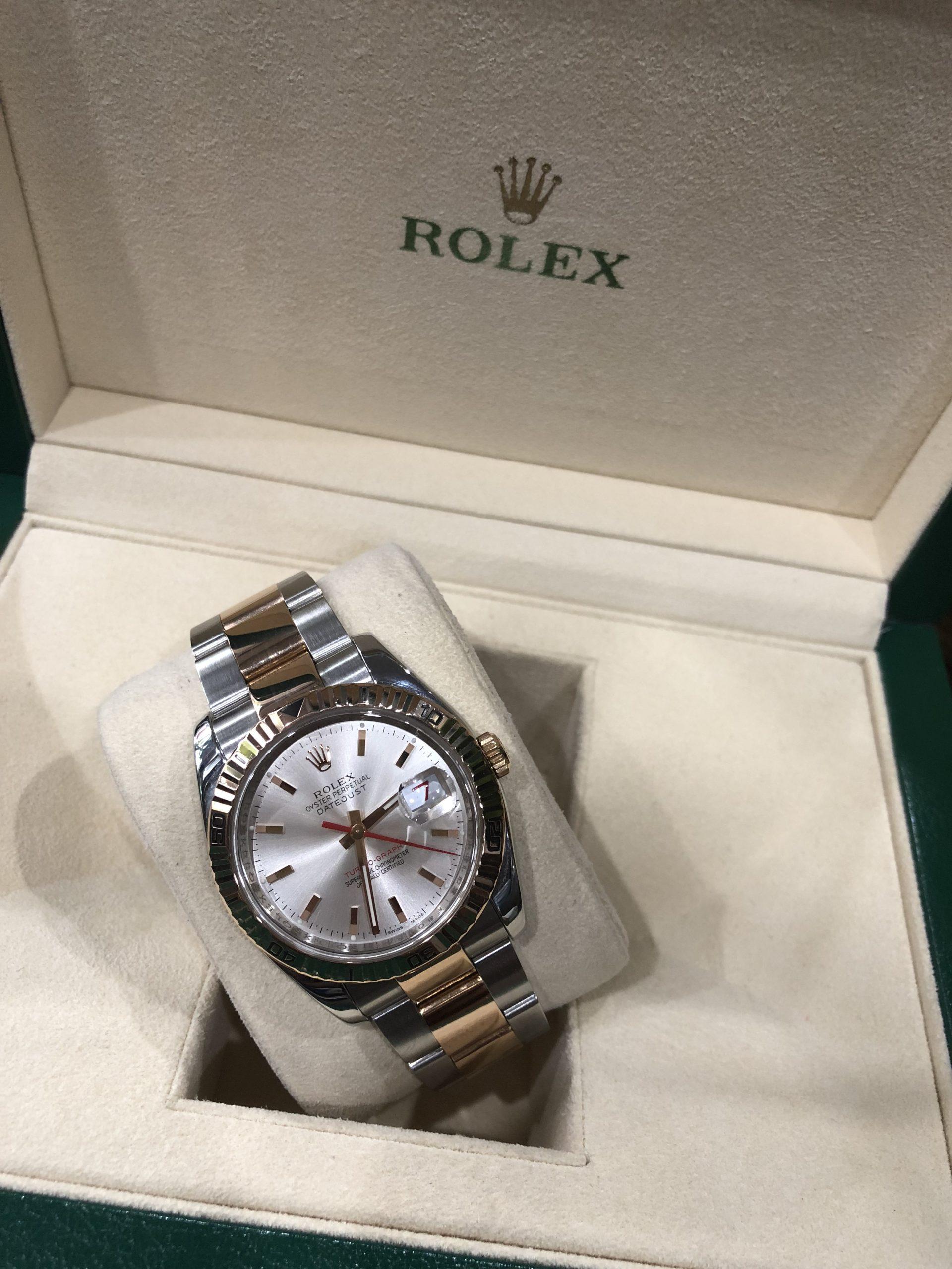 Rolex 116261 thép vàng hồng size 36mm sản xuất 2004-1