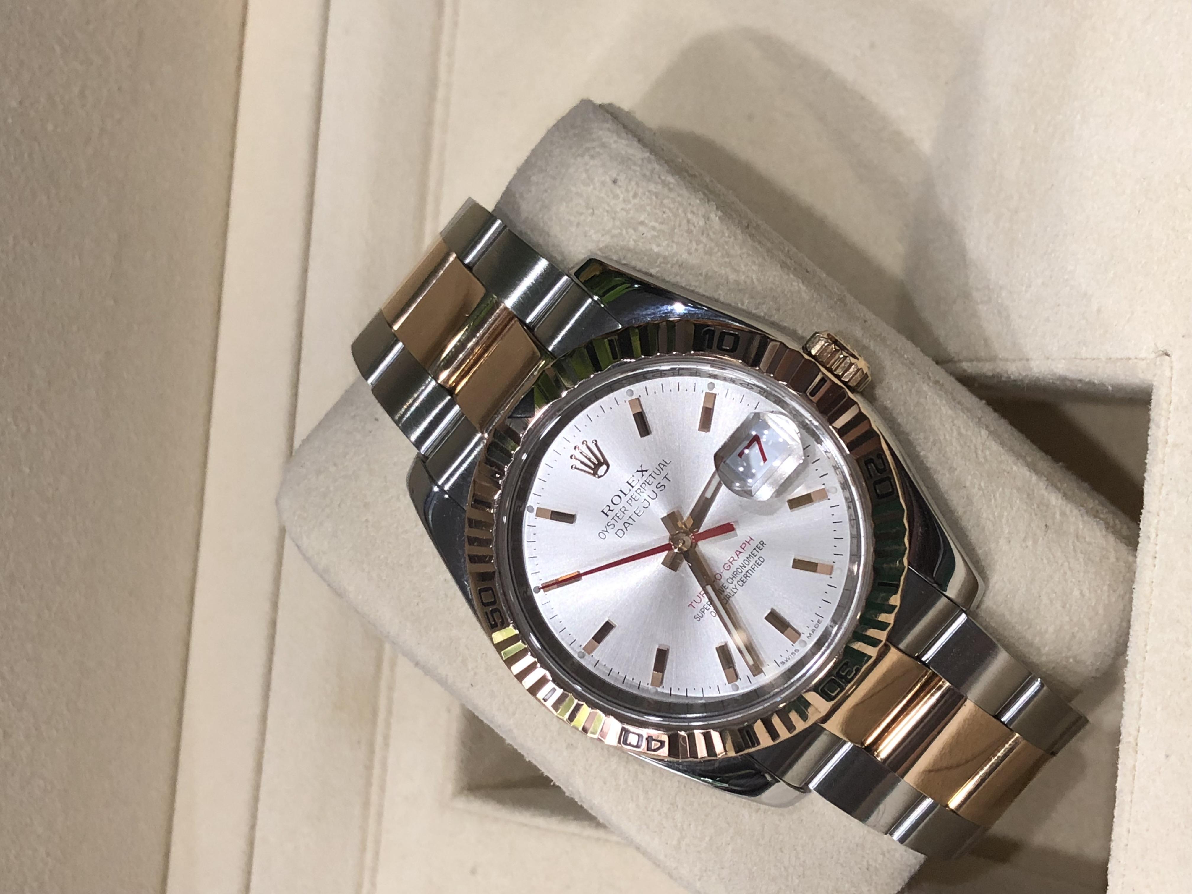 Rolex 116261 thép vàng hồng size 36mm sản xuất 2004-4