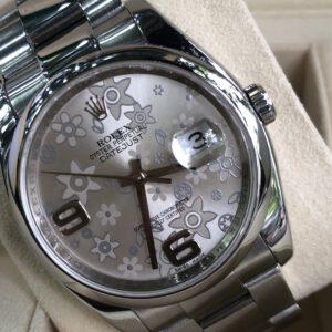 Rolex 116200 mặt hoa đào trắng sản xuất năm 2011