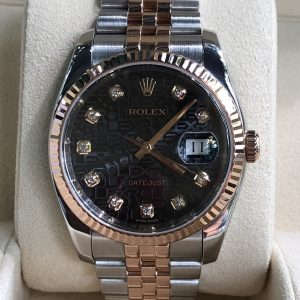 Rolex 116231 Mặt vi tính đen sản xuất năm 2014 Fullbox