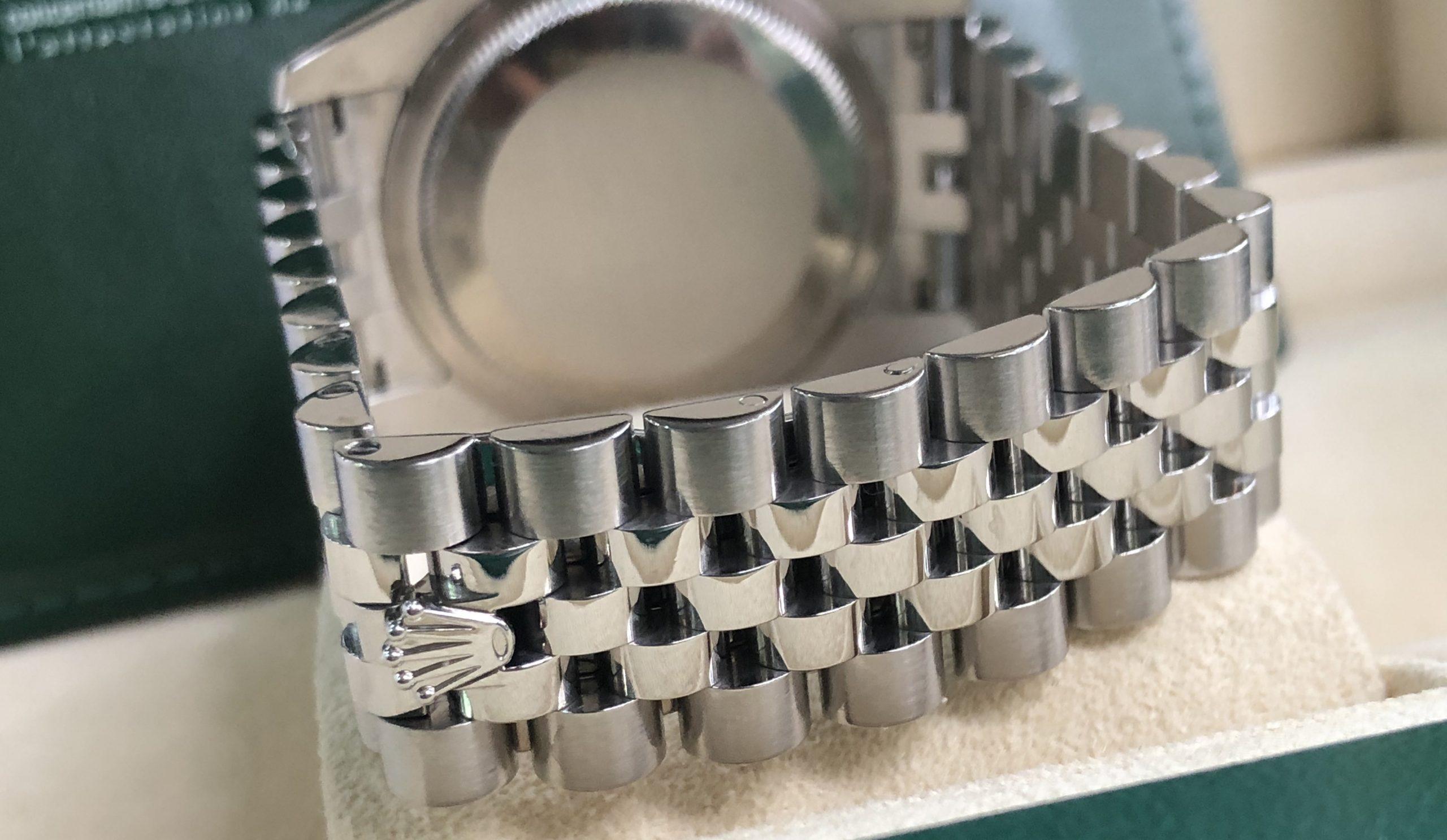 Rolex 116234 mặt ngọc trai fullbox sản xuất năm 2010