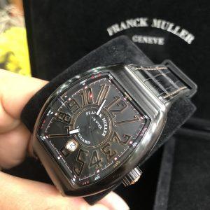 Franck Muller Vanguard V 45 SC DT Titan và vàng 18k đời 2018