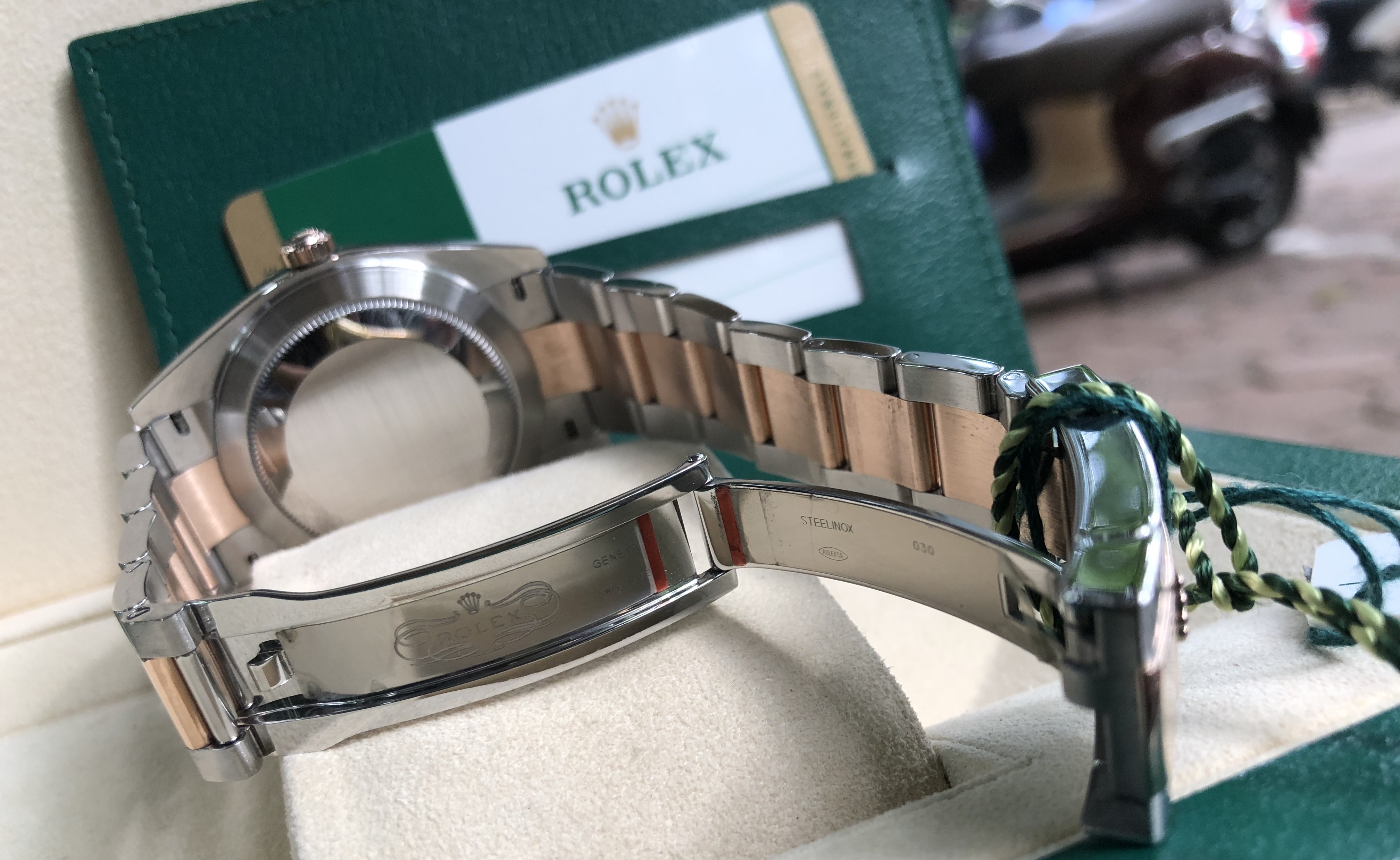 Rolex 126331 demi vàng hồng 18k sản xuất năm 2018