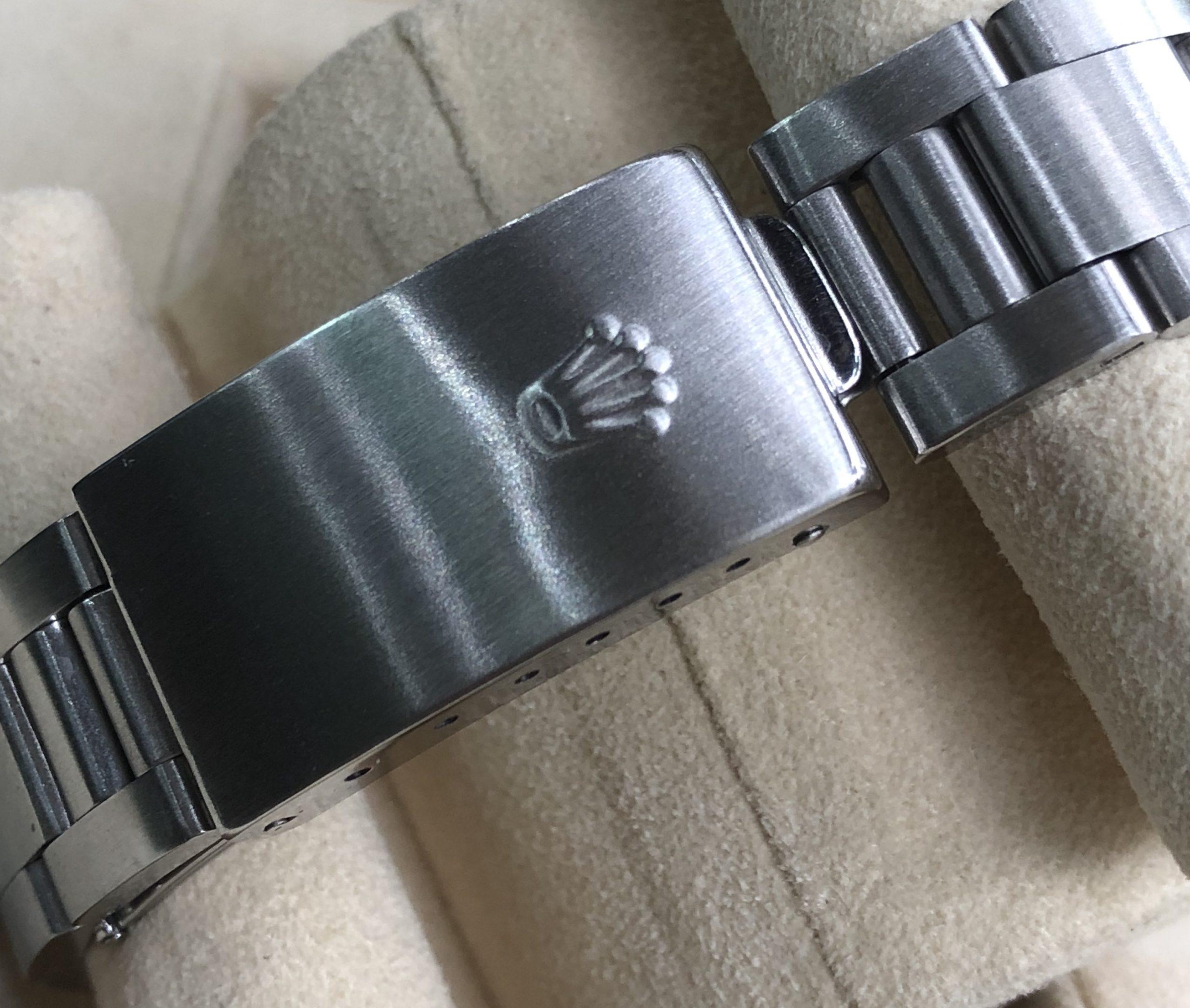 Rolex Air King 14010 niềng độ kim cương đời 2000