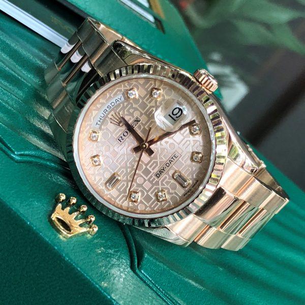 Rolex 118205F mặt vi tính vàng hồng 2015 Fullbox
