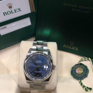 Rolex 116200 mặt xanh Navy đời 2016 Fullbox