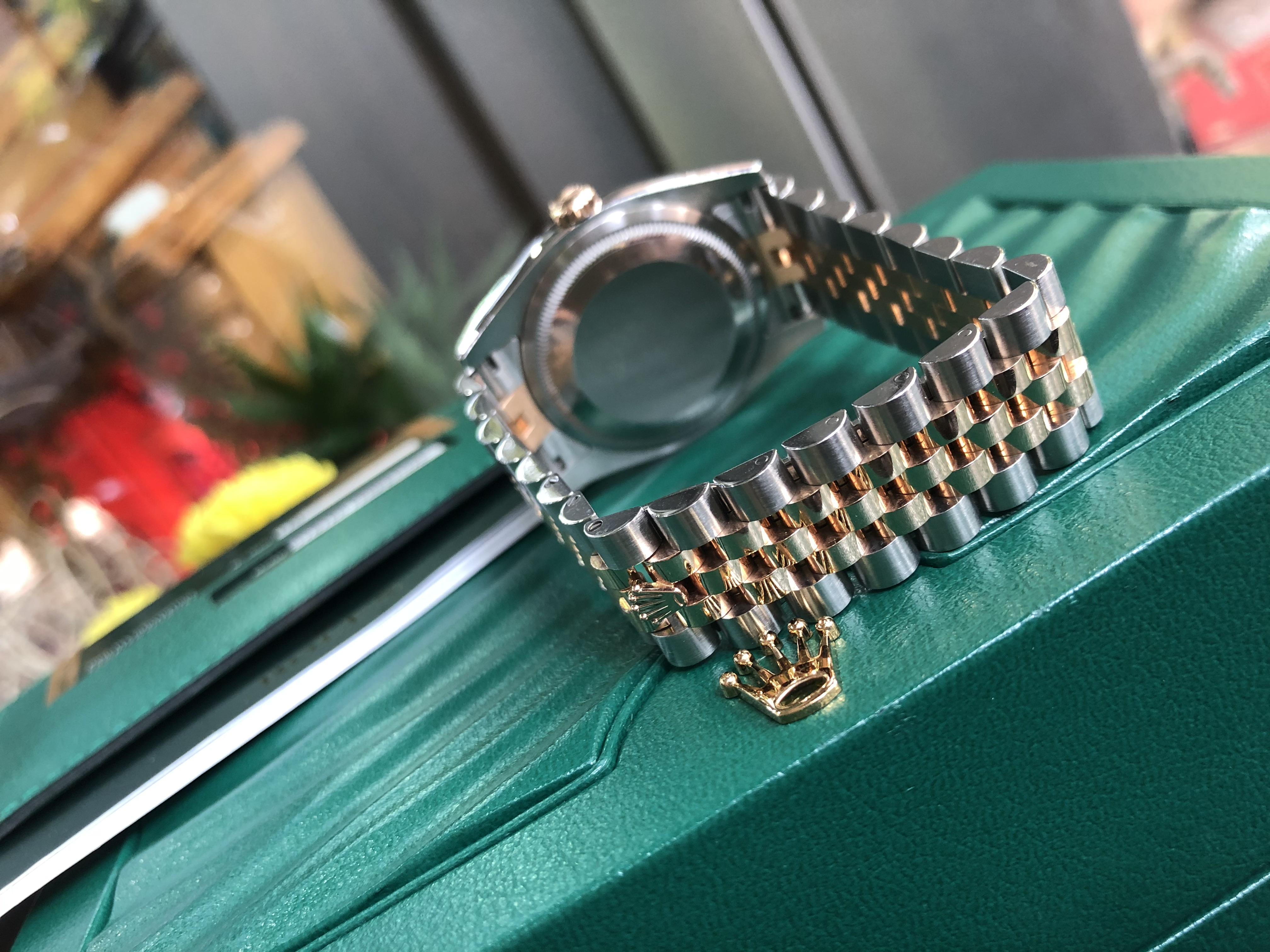 Rolex 116231 mặt vi tính phấn hồng size 36mm Fullbox