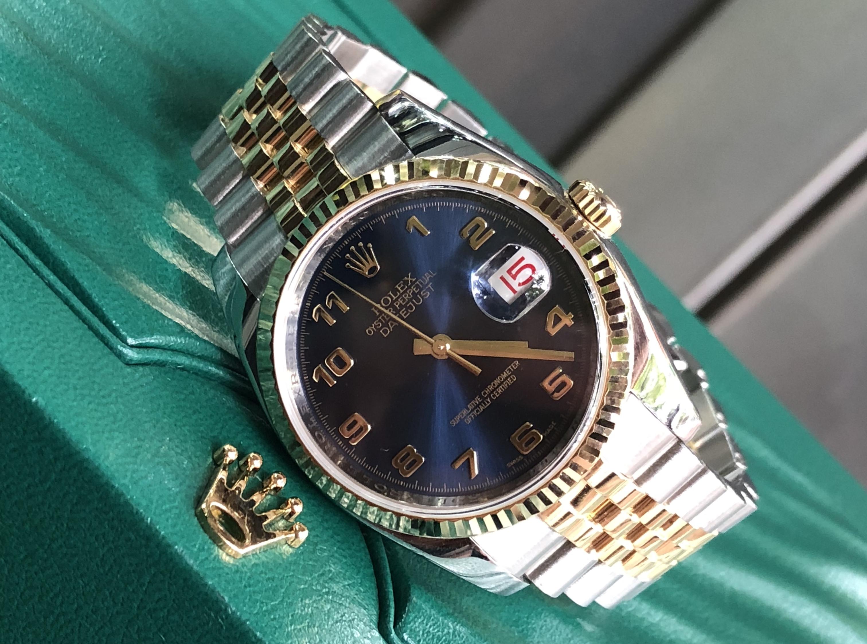 Rolex 116233 mặt xanh NaVy đời 2010 mới đẹp Fullbox
