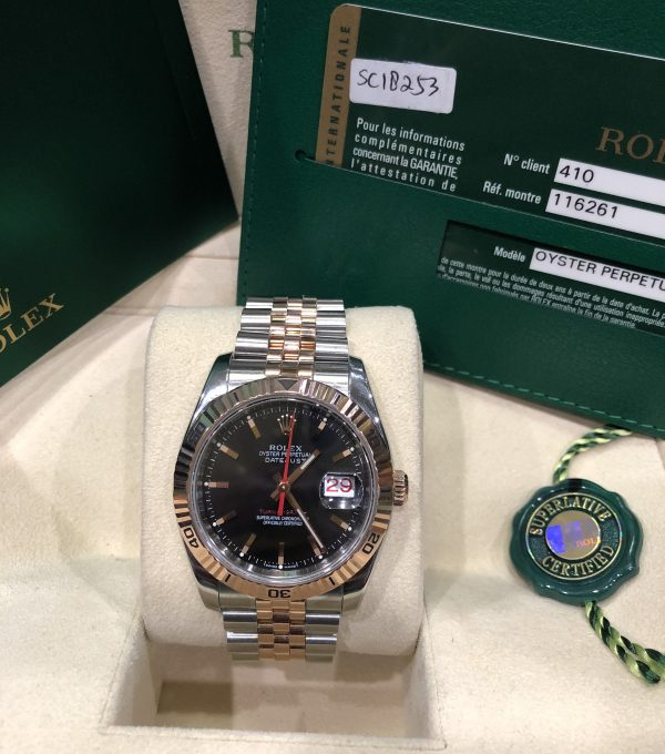 rolex-116261-mat-den-nau-doi-2008-fullbox