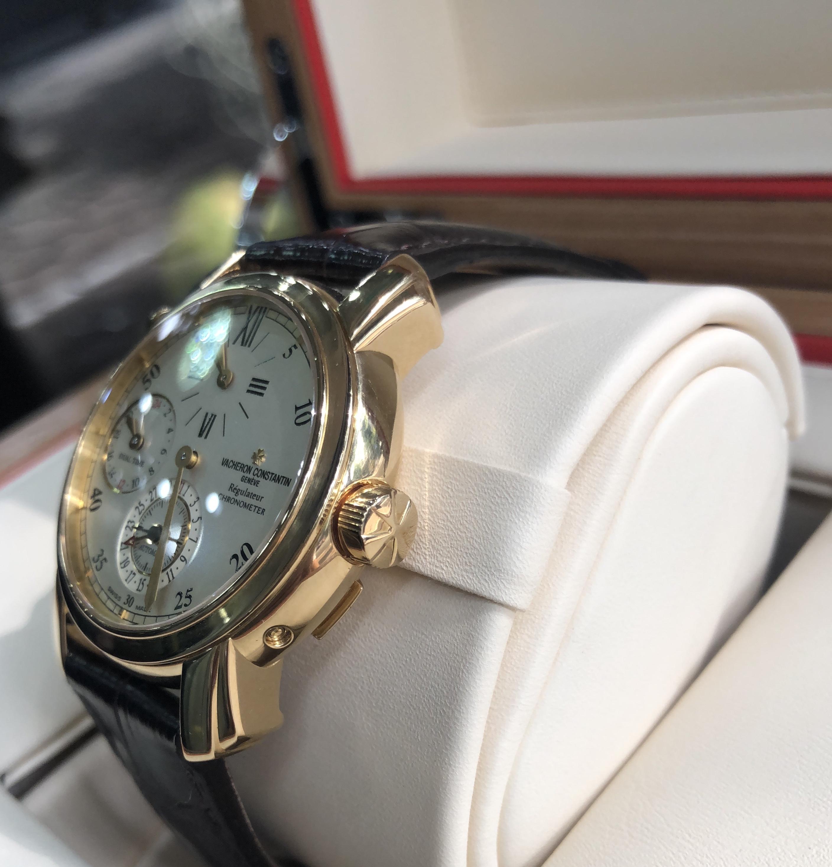 Vacheron Constantin Dual Time Regulator vàng hồng 18k