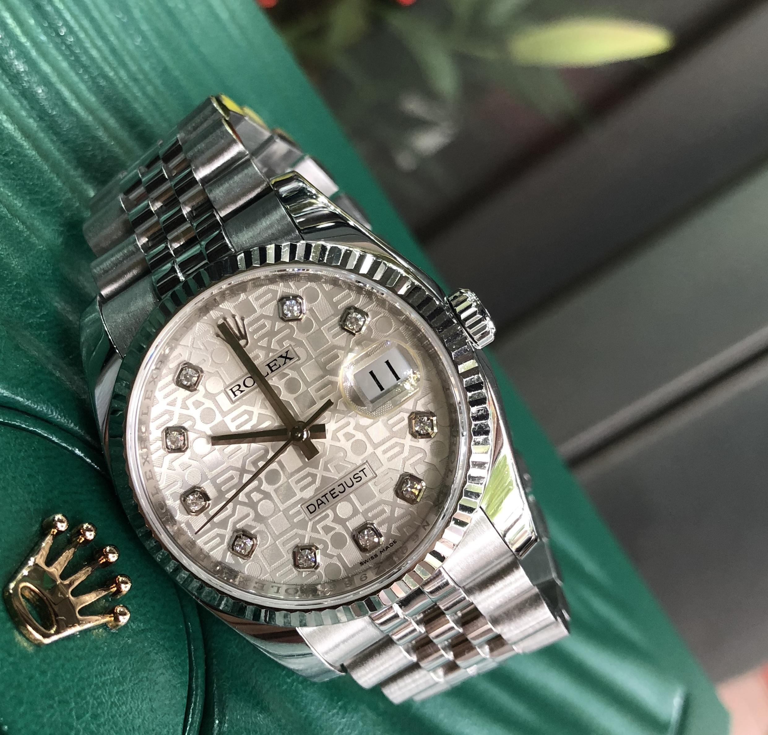 Rolex 116234 mặt vi tính trắng size 36mm đời 2016/2017