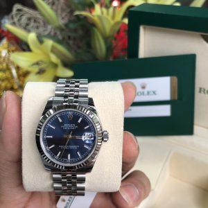 Rolex 178274 mặt xanh NaVy Fullbox đời 12/2018